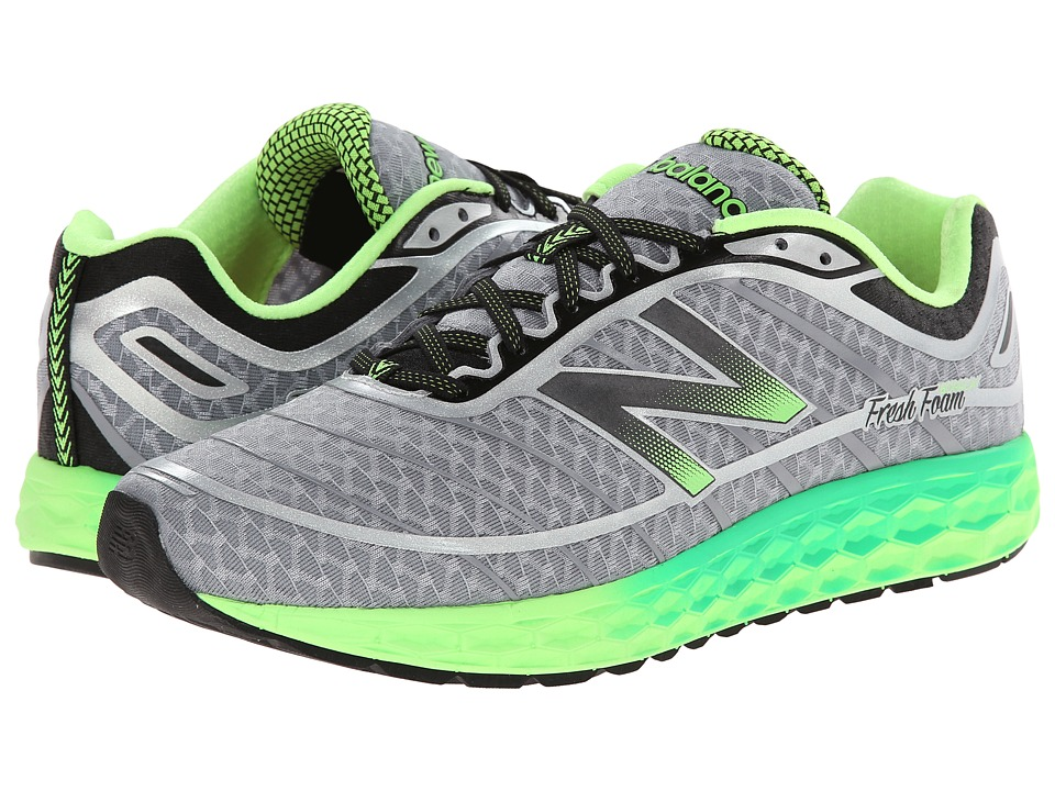 New Balance - Fresh Foam Boracay (Grey/Green) Men's Running Shoes