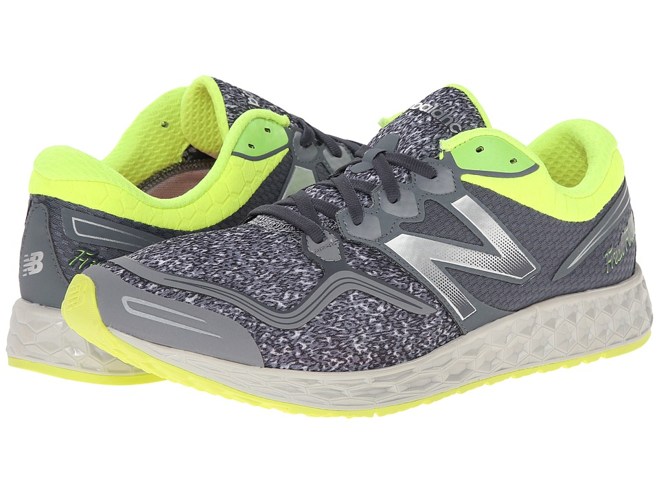 New Balance - Fresh Foam Zante (Grey/Yellow) Men's Running Shoes