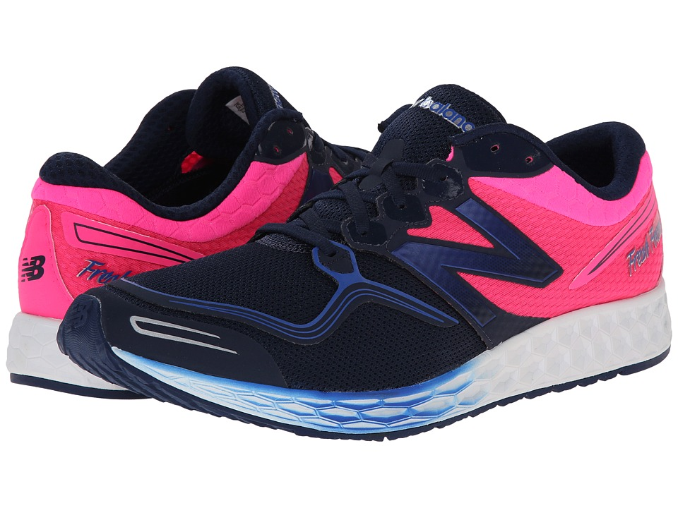 New Balance - Fresh Foam Zante (Blue/Pink) Men's Running Shoes