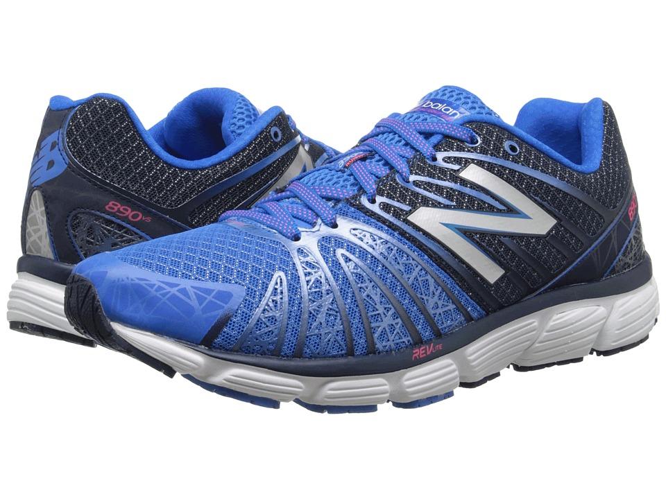 New Balance - M890V5 (Blue/White) Men's Running Shoes