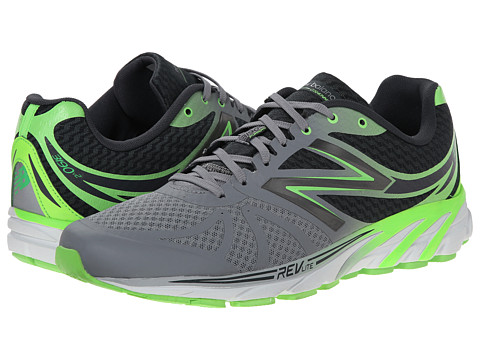New Balance - M3190v2 (Silver/Green) Men's Running Shoes