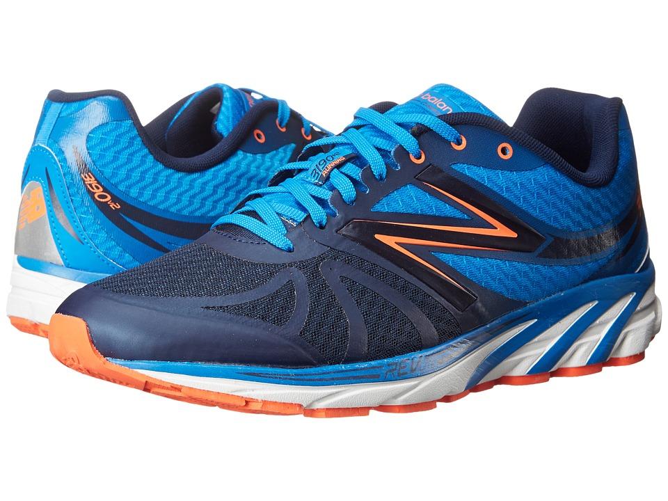 New Balance - M3190v2 (Blue/Orange) Men