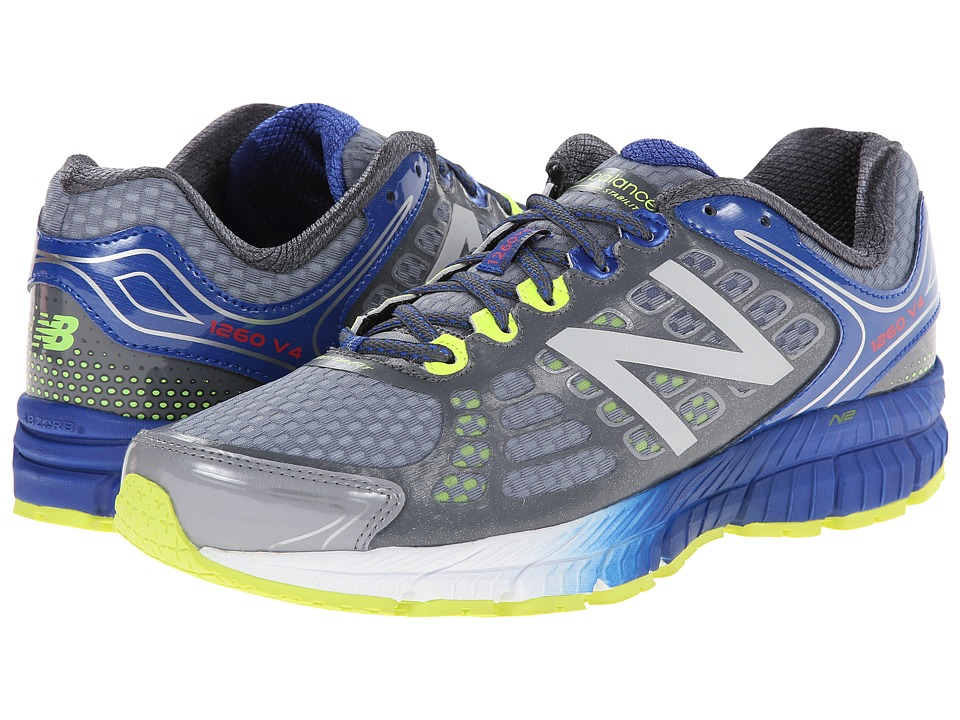 New Balance - M1260v4 (Grey/Blue) Men's Shoes