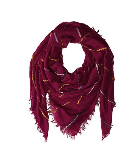 Echo Design - Space Dye Roving Wrap (Boysenberry) Scarves