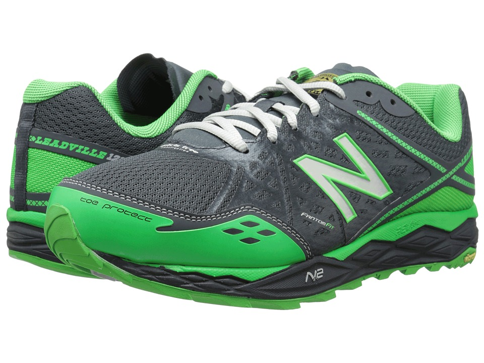 New Balance - MT1210v2 (Grey/Green) Men's Running Shoes