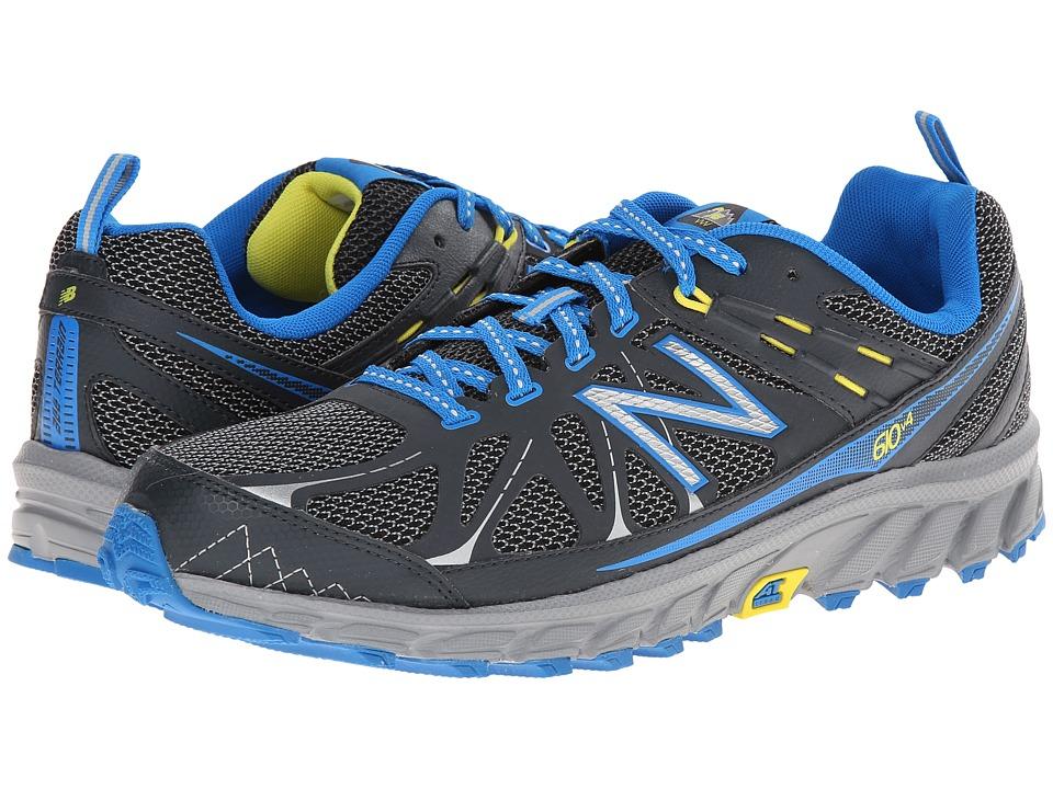 New Balance - MT610v4 (Grey/Blue) Men's Running Shoes