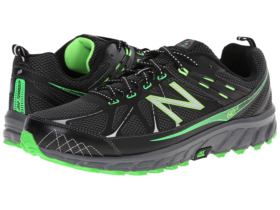 b0cb45491628b ... Shoes Size 11m UPC 888546444713 product image for New Balance - MT610v4  (Black/Green) Men's Running ...