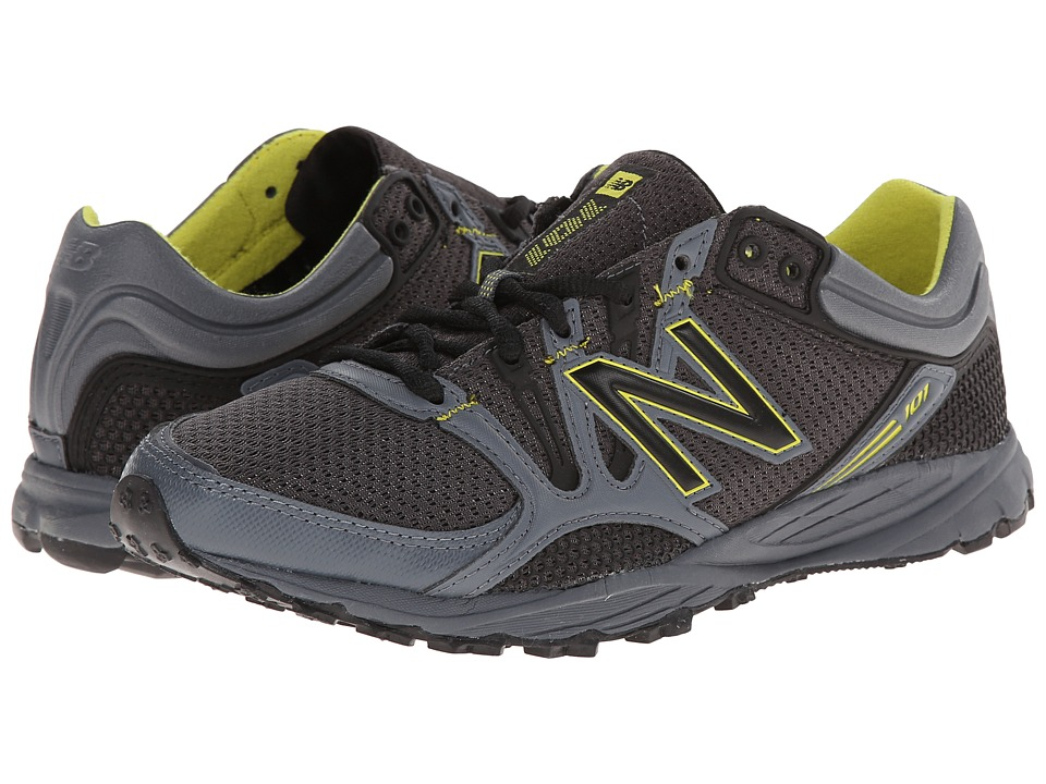 New Balance - MT101V1 (Grey/Black) Men's Running Shoes