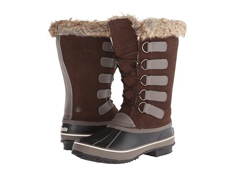 Northside - Kathmandu (Dark Brown/Stone) Women's Cold Weather Boots