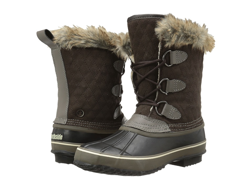 Northside - Mont Blanc (Dark Brown) Women's Cold Weather Boots