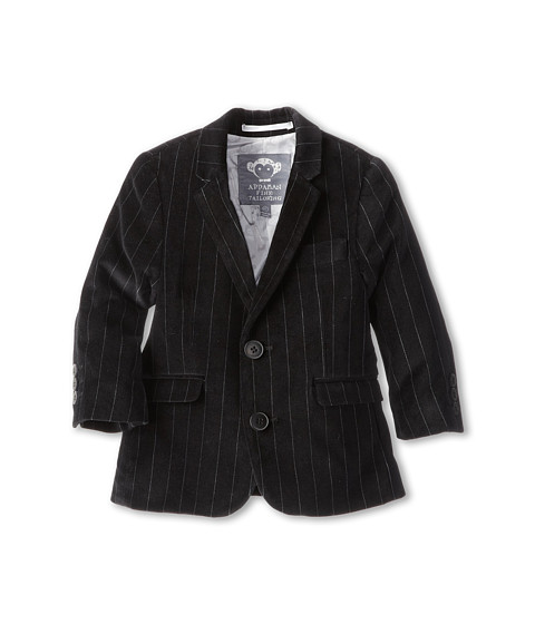 Appaman Kids - Fully Lined Mod Suit Jacket (Toddler/Little Kids/Big Kids) (Velvet Pinstripe) Boy