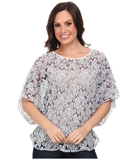 Ariat - Lace Tunic (Indigo) Women's Blouse