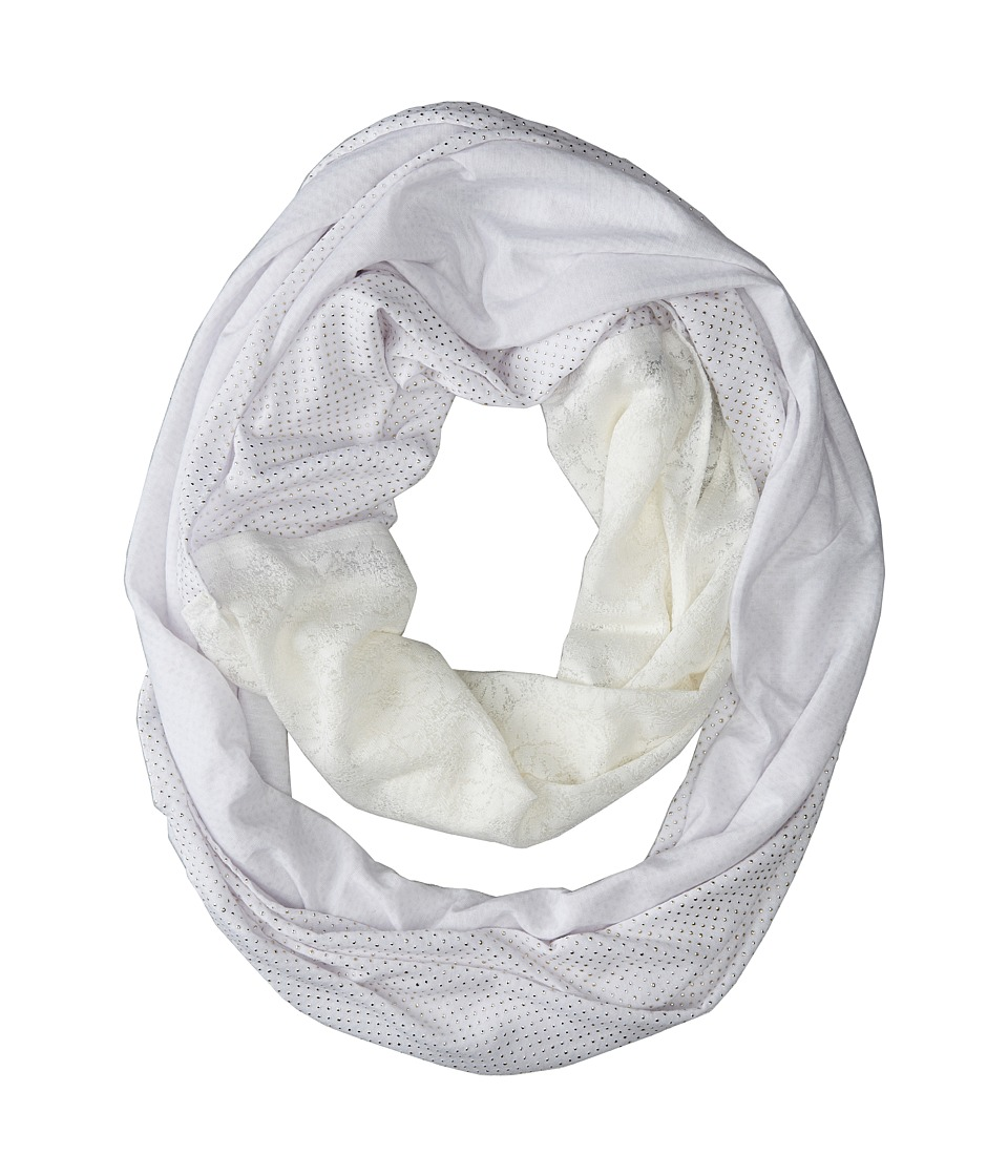 Echo Design - Studded Jersey Loop (Cream) Scarves