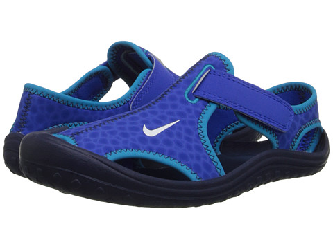 Nike Kids - Sunray Protect (Little Kid) (Lyon Blue/Midnight Navy/Blue Lagoon/White) Boys Shoes