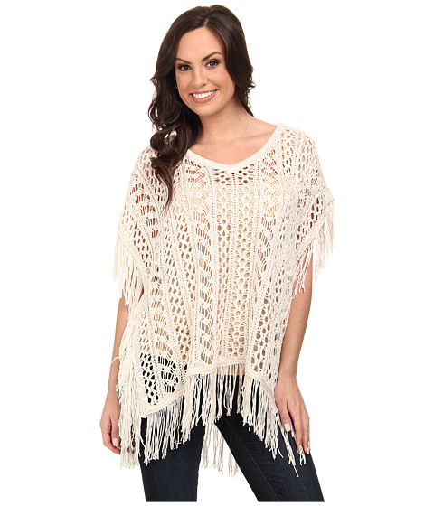 Ariat - Plev Poncho Plev Poncho (Whisper White) Women