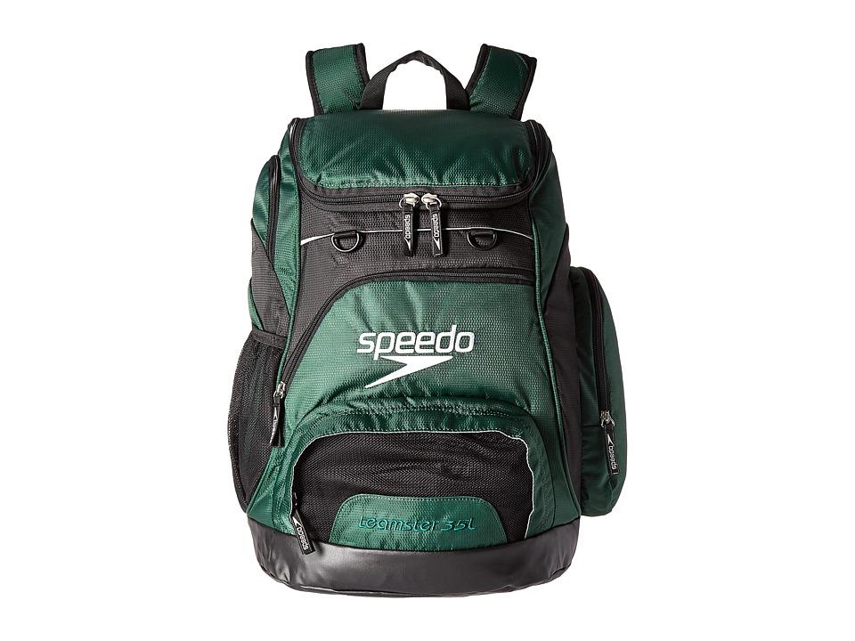 Speedo Teamster Backpack 35L (Hunter Green/Black) Backpack Bags