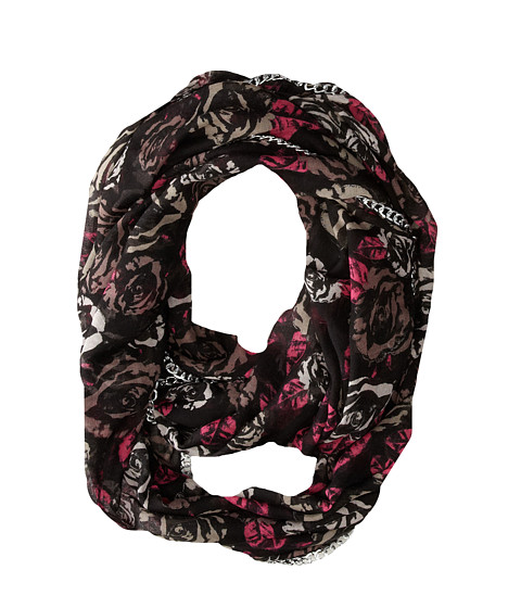 Betsey Johnson - Digital Rose Infinity (Pink) Scarves
