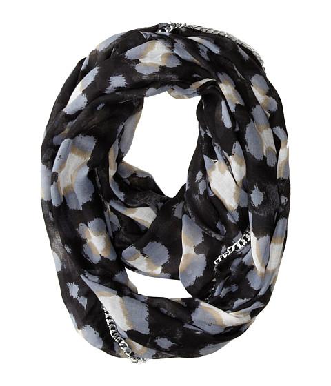 Betsey Johnson - Pretty Kitty Infinity (Black) Scarves