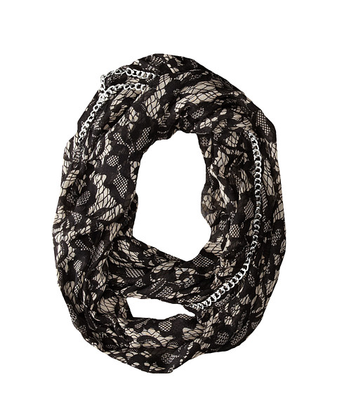 Betsey Johnson - Lace Attraction Infinity (Ivory) Scarves