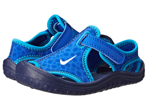 Nike Kids - Sunray Protect (Infant/Toddler) (Lyon Blue/Midnight Navy/Blue Lagoon/White) Boys Shoes