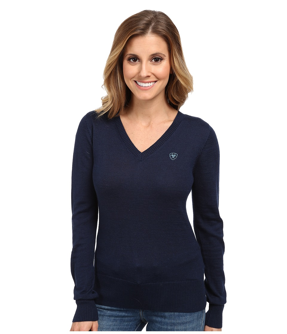 Ariat - Ramiro Sweater (Navy Eclipse) Women's Sweater