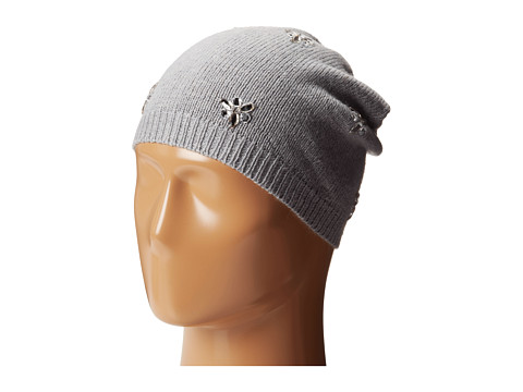 Betsey Johnson - Bling Beanie Hat (Grey) Beanies