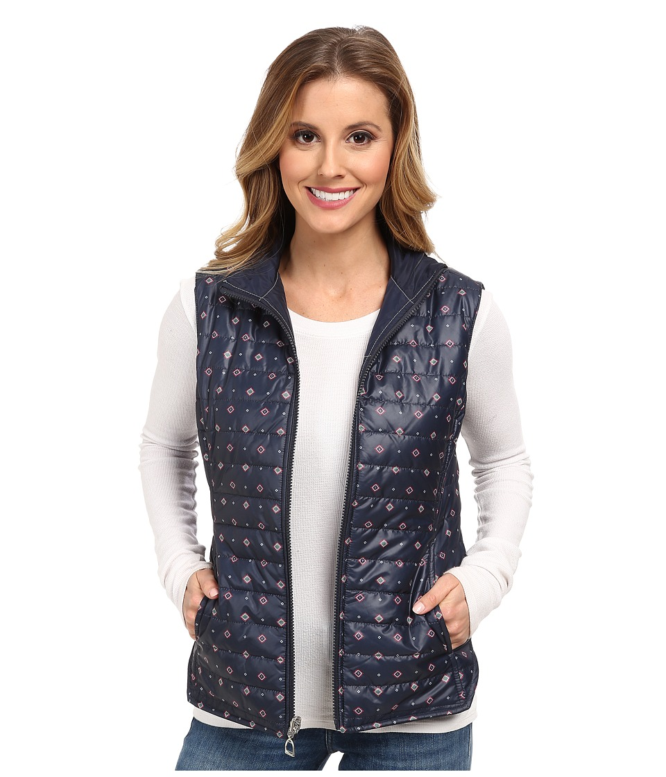 Ariat - Vala Rev Vest (Navy Multi) Women's Vest