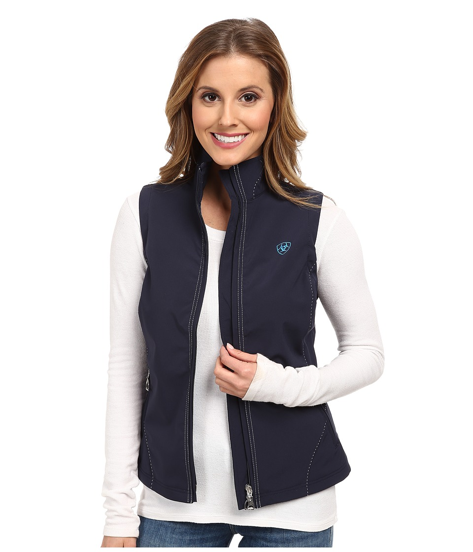 Ariat - Solan Softshell Vest (Navy Eclipse) Women