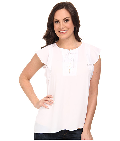 Ariat - Marlow Top (White) Women's Blouse