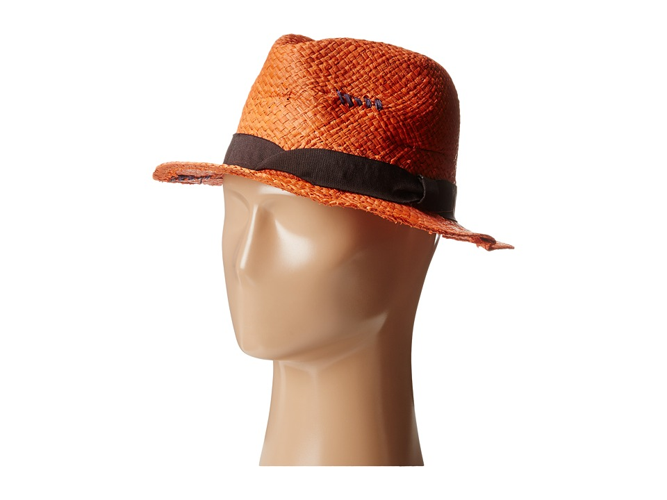 Grace Hats - Clutch Hat (Orange) Fedora Hats