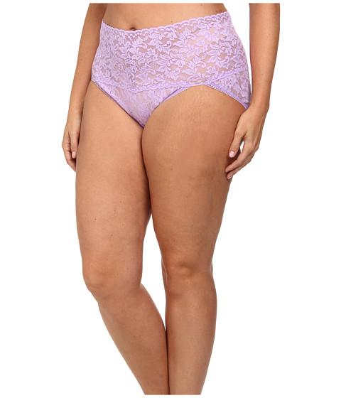 Hanky Panky - Plus Size Signature Lace Retro V-Kini (Wisteria) Women's Underwear