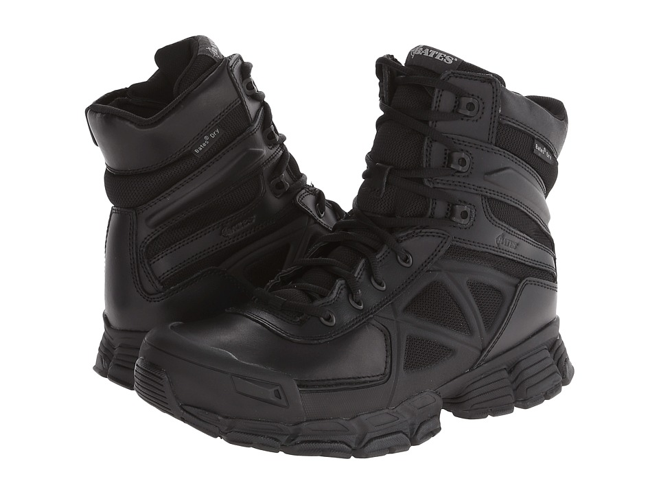 Bates Footwear - Velocitor Waterproof Zip (Black) Men's Boots