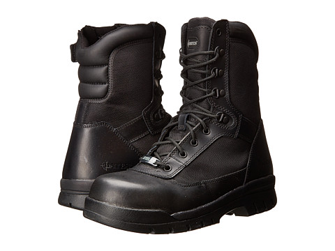 Bates Footwear - 8 Steel Toe EH Insulated Zip (Black) Men's Boots