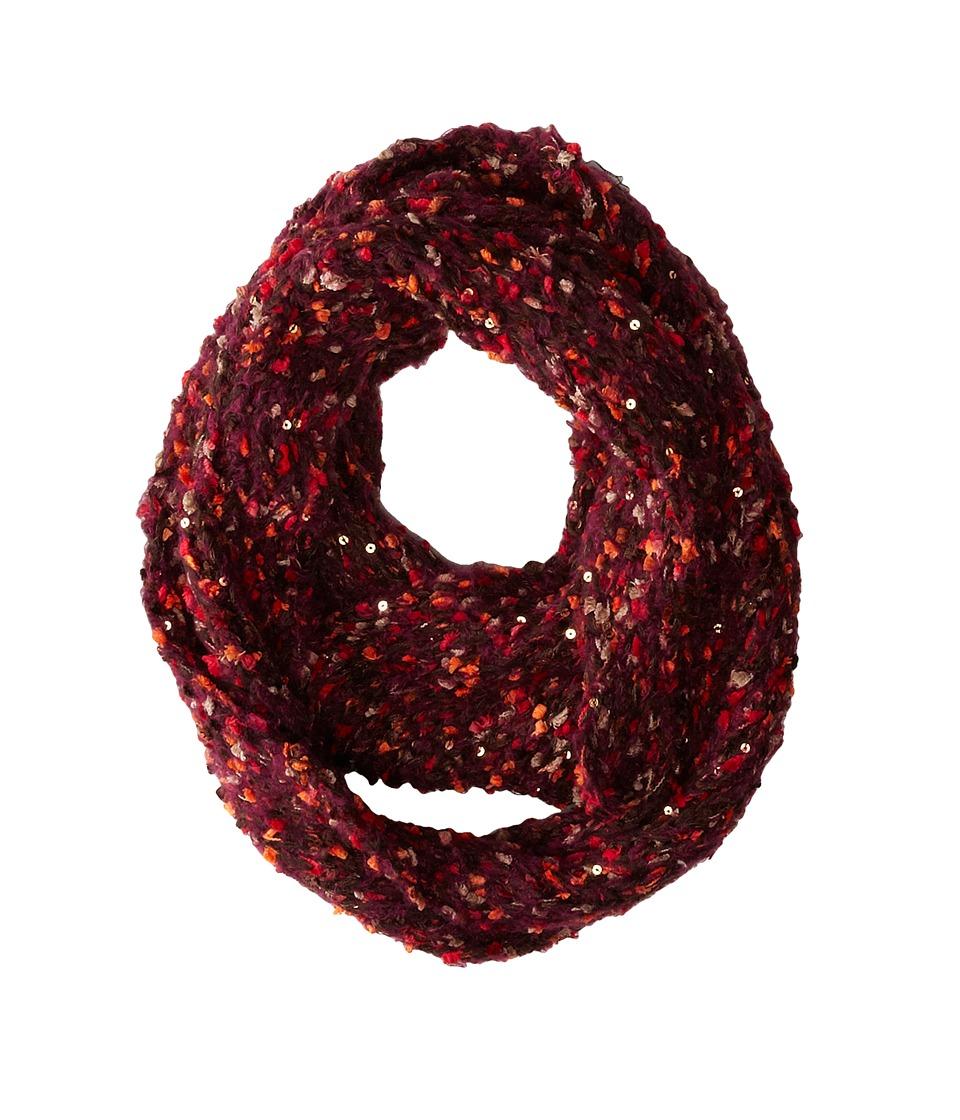 Steve Madden - Space Dye Knit Knack Infinity Scarf (Warm) Scarves
