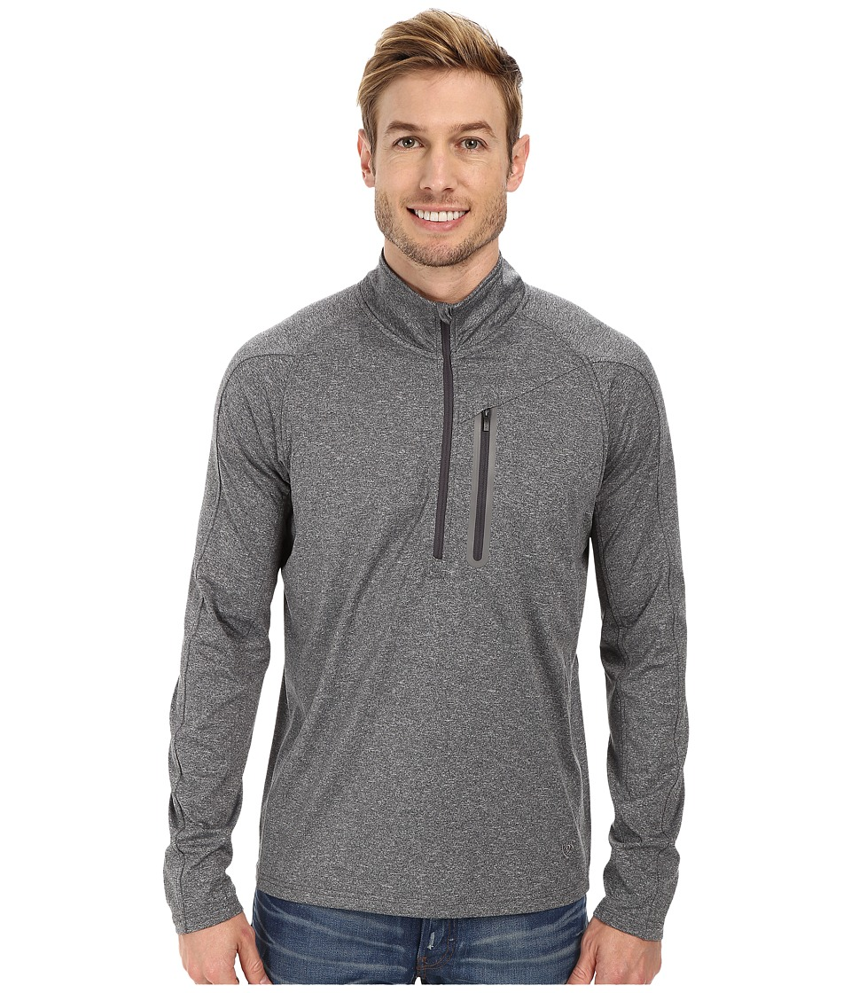 Ariat - Flash Fleece 1/2 Zip (Charcoal) Men's Fleece