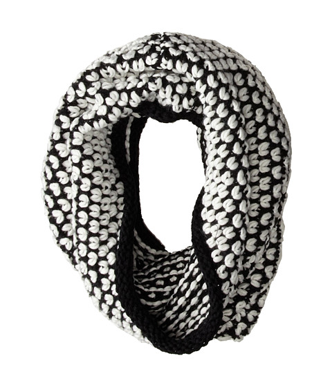 Steve Madden - Table For Two Snood (Black) Scarves