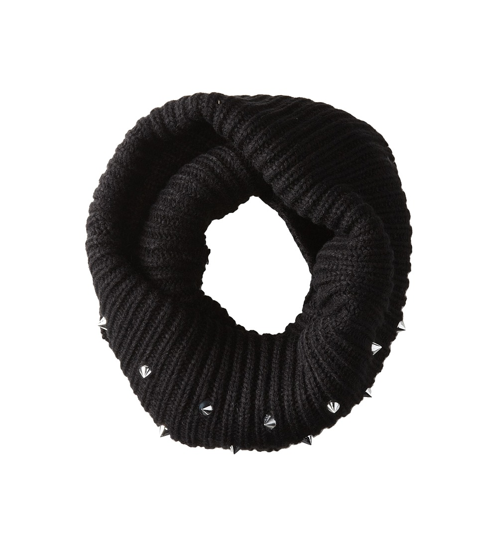 Steve Madden - Spiked Punch Snood (Black) Scarves