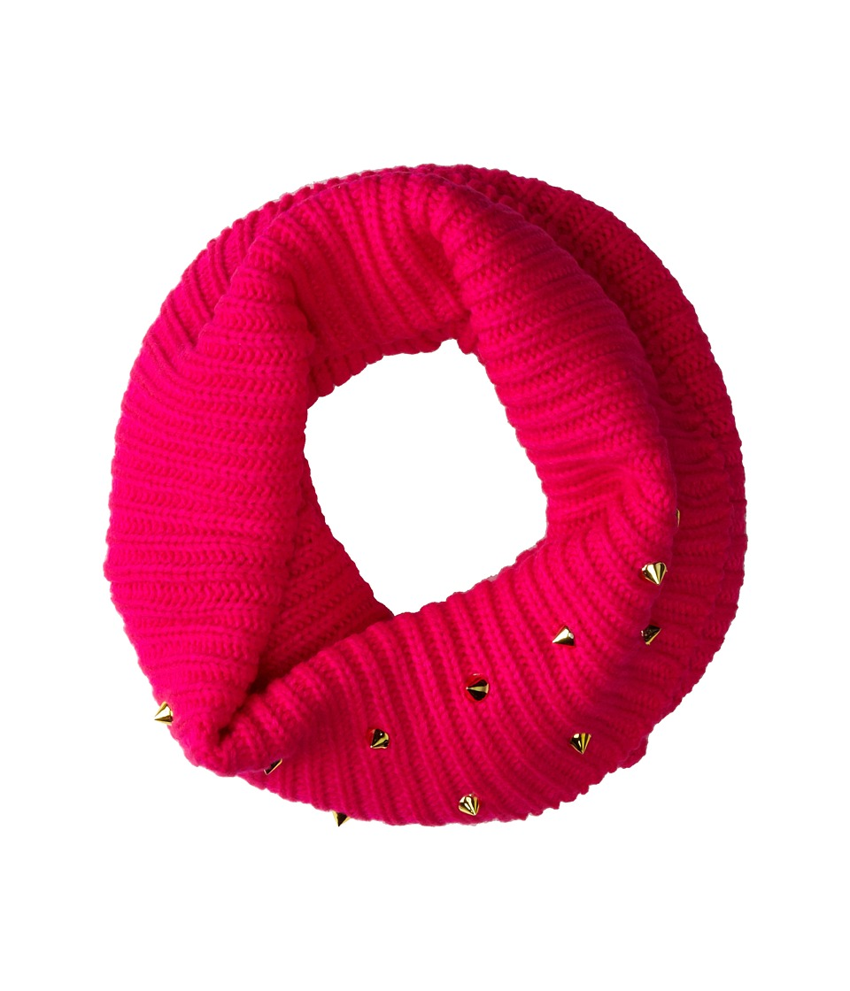 Steve Madden - Spiked Punch Snood (Neon Pink) Scarves