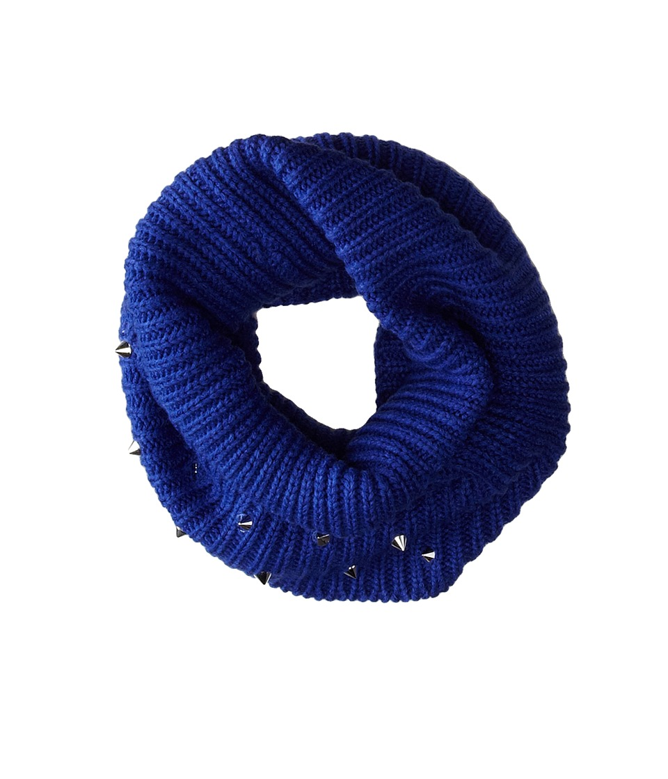 Steve Madden - Spiked Punch Snood (Royal) Scarves