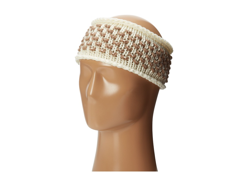 Steve Madden - Table For Two Headband (Cream) Headband