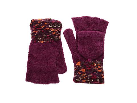 Steve Madden - Space Dye Knit Knack Tailgate Glove (Warm) Dress Gloves