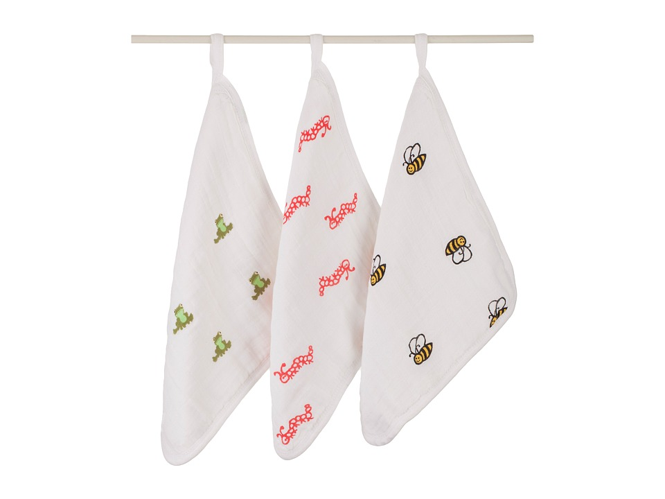 aden + anais - Classic Washcloth Set (Mod About Baby) Bath Towels