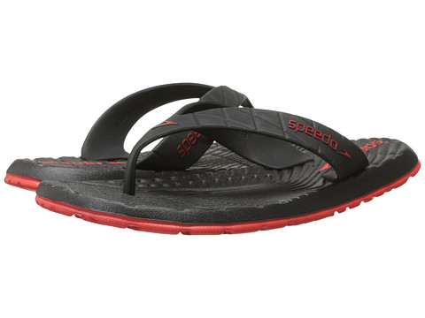Speedo - Exsqueeze Me Flip (Black/Red) Men