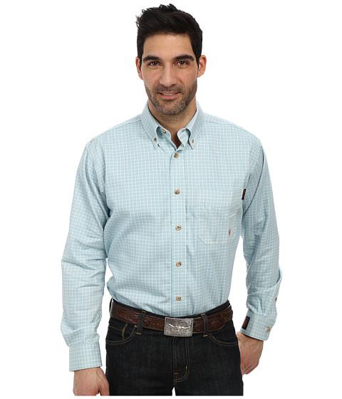 Ariat - FR Tioga Work Shirt (Aqua) Men