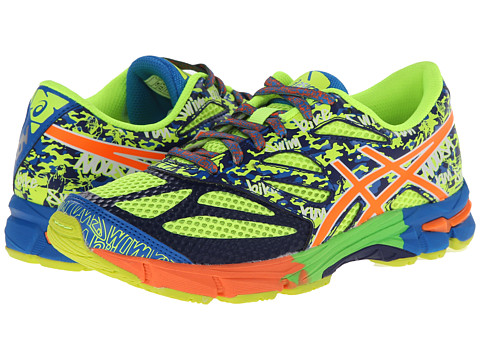 ASICS Kids - Gel-Noosa Tri 10 GS (Little Kid/Big Kid) (Flash Yellow/Flash Orange/Blue) Boys Shoes