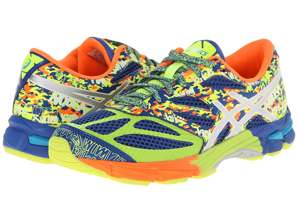 ASICS Kids - Gel-Noosa Tri 10 GS (Little Kid/Big Kid) (Blue/Lighting/Flash Yellow) Boys Shoes