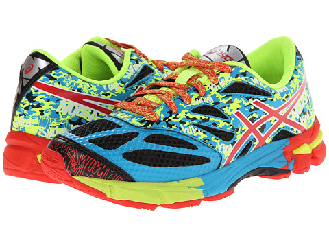 ASICS Kids - Gel-Noosa Tri 10 GS (Little Kid/Big Kid) (Black/Red Pepper/Flash Yellow) Boys Shoes