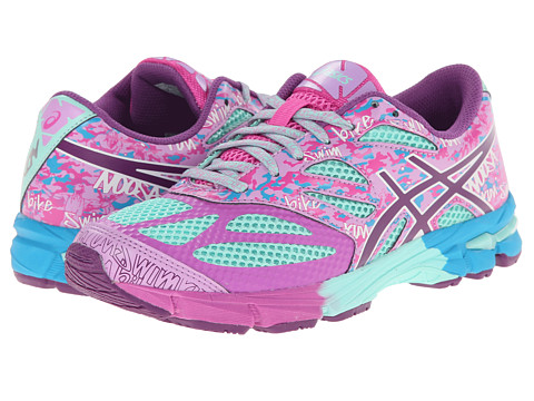 ASICS Kids - Gel-Noosa Tri 10 GS (Little Kid/Big Kid) (Beach Glass/Plum/Hot Pink) Girls Shoes