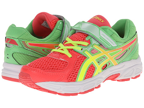 ASICS Kids - Pre-Contend 2 PS (Toddler/LittleKid) (Diva Pink/Flash Yellow/Apple) Girls Shoes