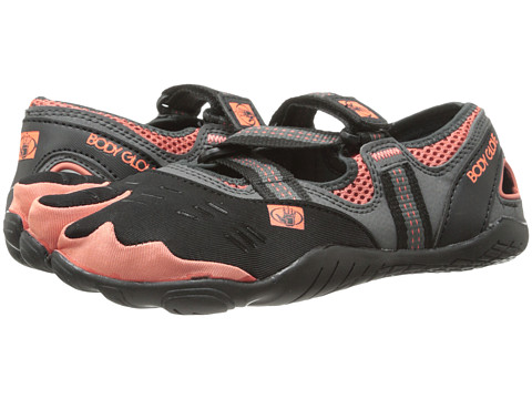 Body Glove - 3T BareFoot Zap (Black/Coral) Women's Shoes